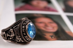 High School Graduation Gift - Free Class Ring