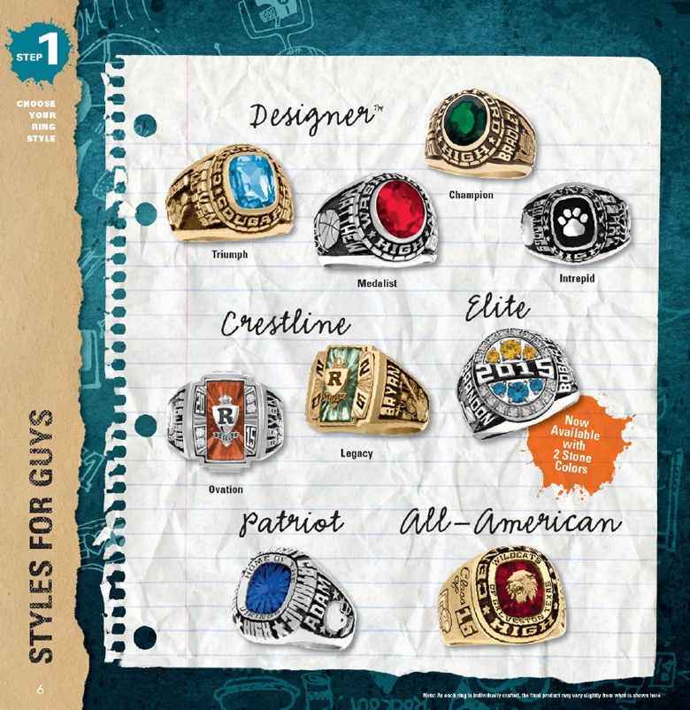 ARTCarved Guys Class Rings