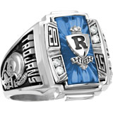 Boy's Class Ring with Diamonds - Ovation on sale
