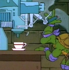 Donatello Fixing Stuff
