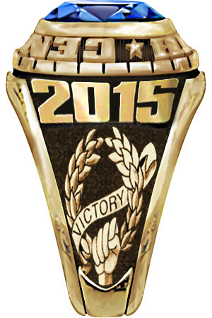 Fantasy Football Ring - Victory Design