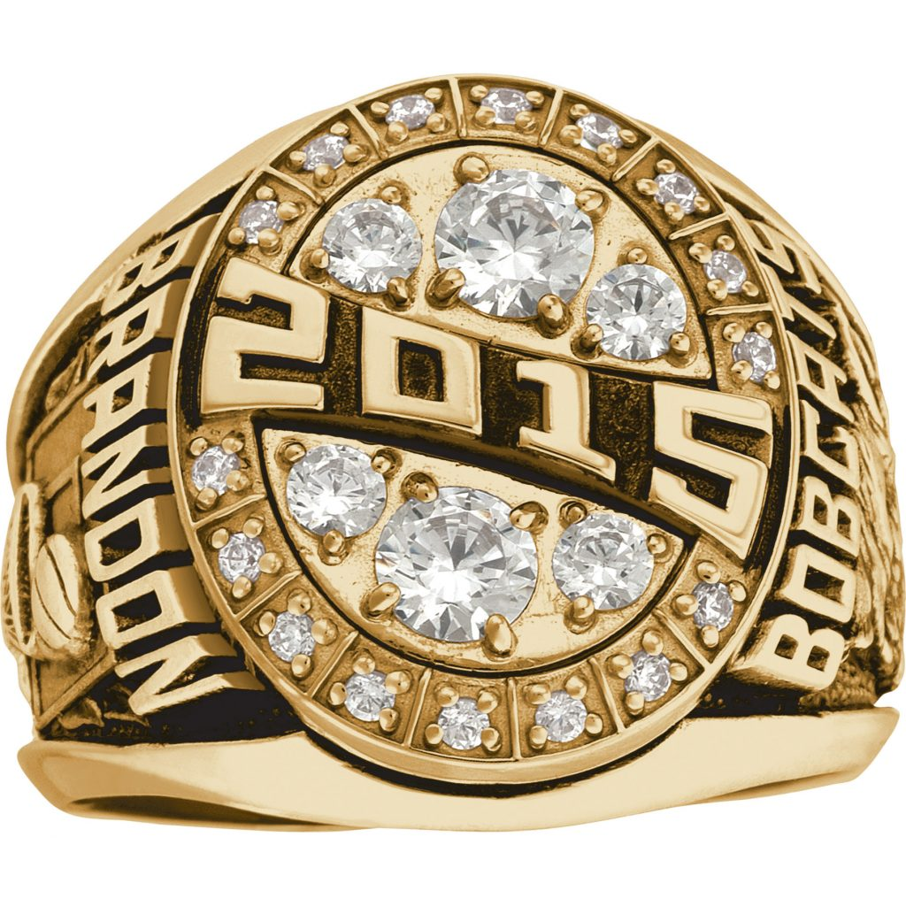fantasy football championship ring - men's elite