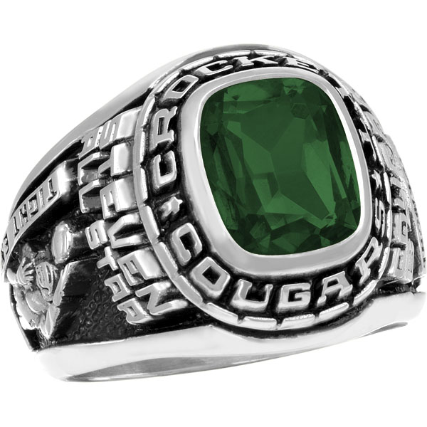 mens triumph 2017 high school class ring